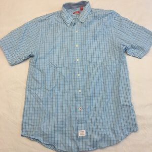 Like new Men's Izod short sleeve button down